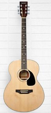 Tanara Grand Concert Acoustic Guitar - Natural
