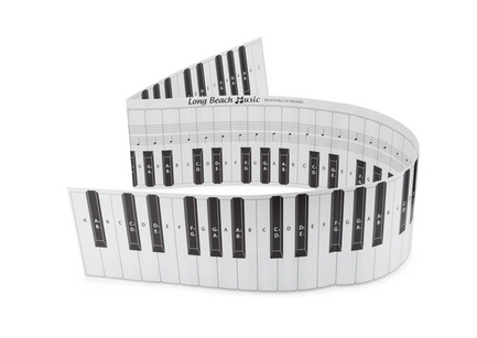 Fold-Out Practice Keyboard