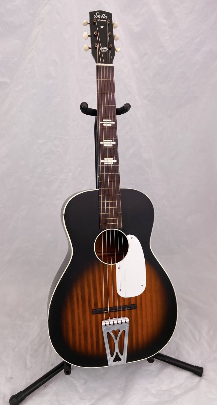 Preowned Vintage Stella Acoustic Guitar