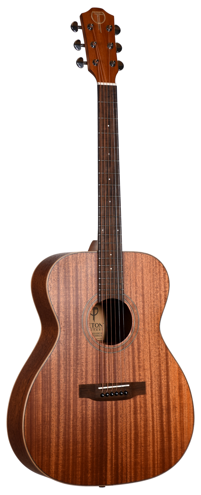 Teton STA103NT-OP Grand Concert Guitar - Solid Mahogany Top, Mahogany Back and Sides