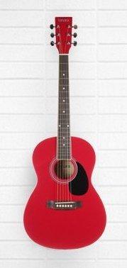 Tanara 3/4-Scale Acoustic Guitar - Dark Red