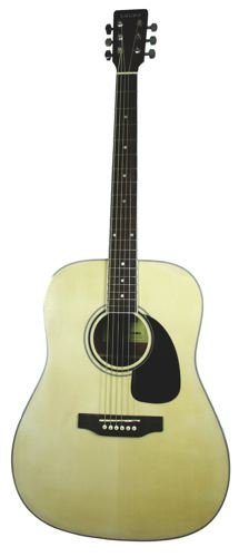 Tanara Dreadnought Acoustic-Electric Guitar - Natural
