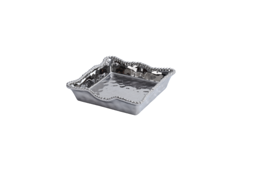Pampa Bay Luncheon Napkin Holder Silver