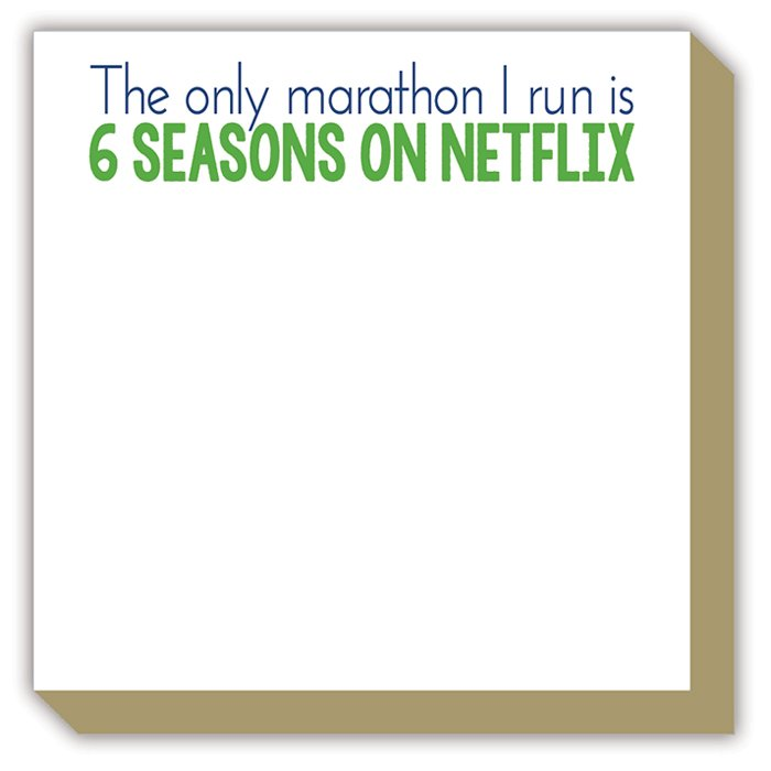 Mini Luxe Pad - The Only Marathon I Run