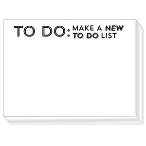 Mini Slab Pad - To Do: Make A New To Do List