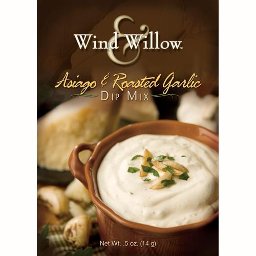 Wind & Willow - Asiago Roasted Garlic Dip Mix