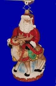Christopher Radko Deer Friends Ornament