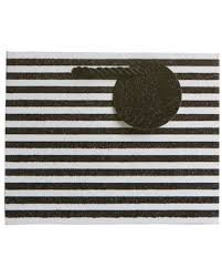 Striped Tote Gift Bag - Small