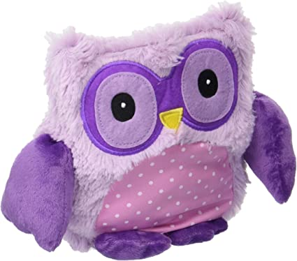 Warmies - 9 Hooty Purple Owl