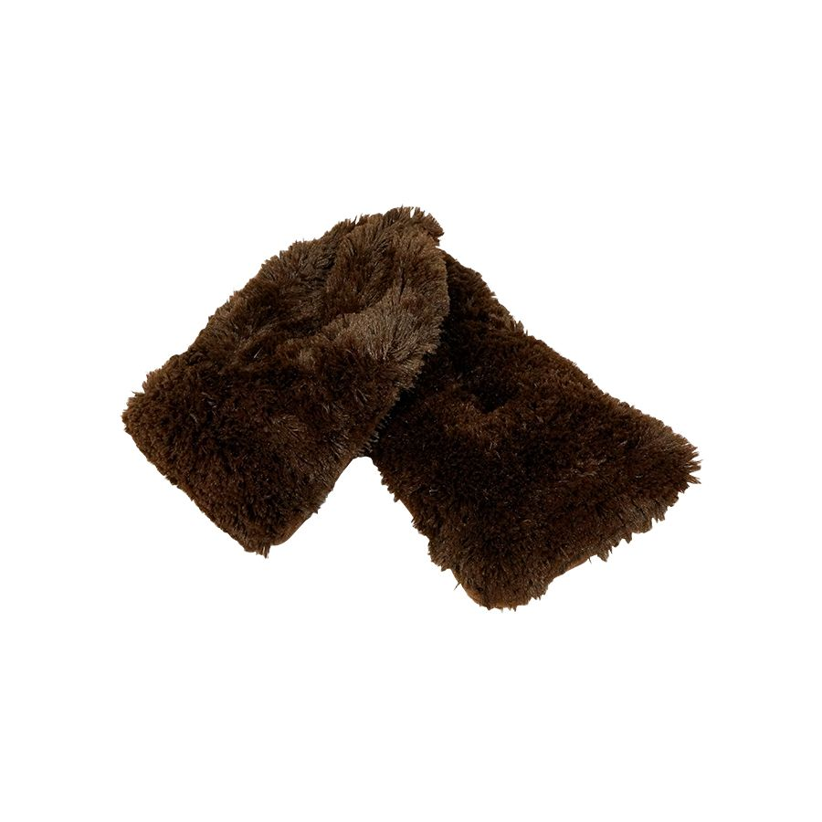 Warmies - Plush Neck Wrap Brown