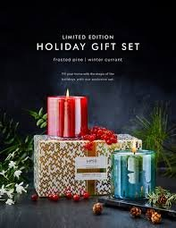 LAFCO Holiday Candle Gift Set Frosted Pine & Winter Currant