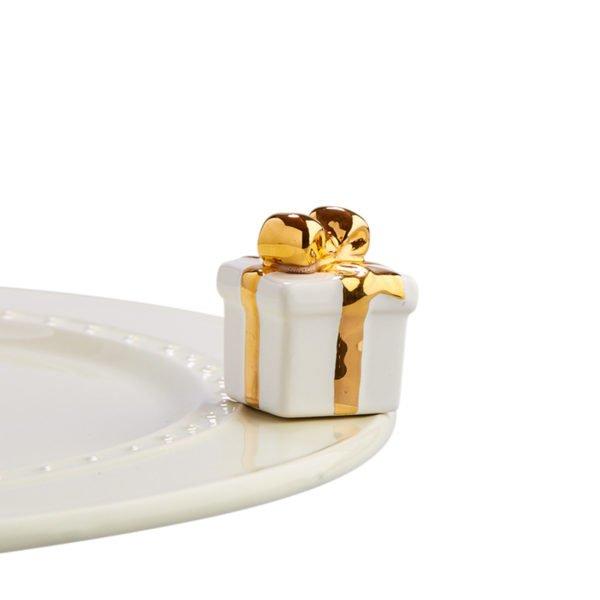 Nora Fleming White Gift - A185