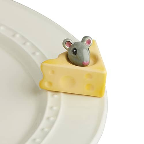 Nora Fleming Cheese and Mouse - A223