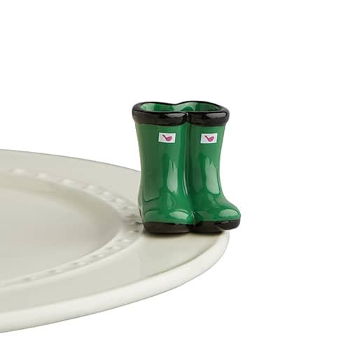 Nora Fleming Green Boots - A227