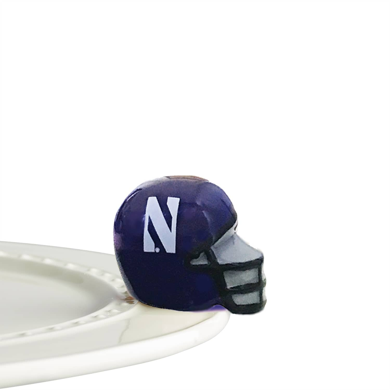 Nora Fleming Northwestern Helmet - A304