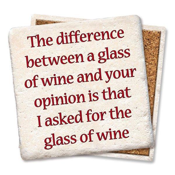 Coaster - Wine & Opinion