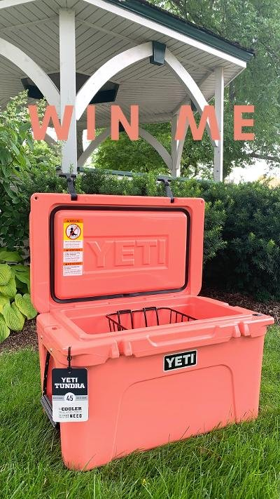 YETI Raffle Ticket