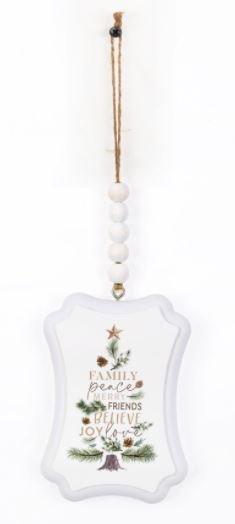 Family Peace Ornament