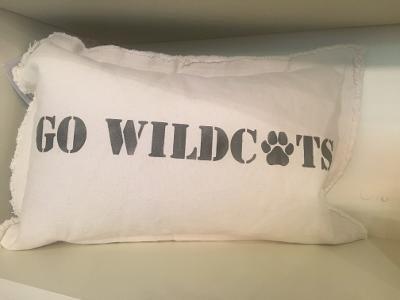 Go Wildcats Pillow