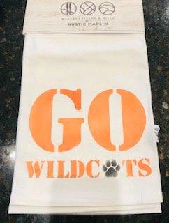 Go Wildcats Hand Towel