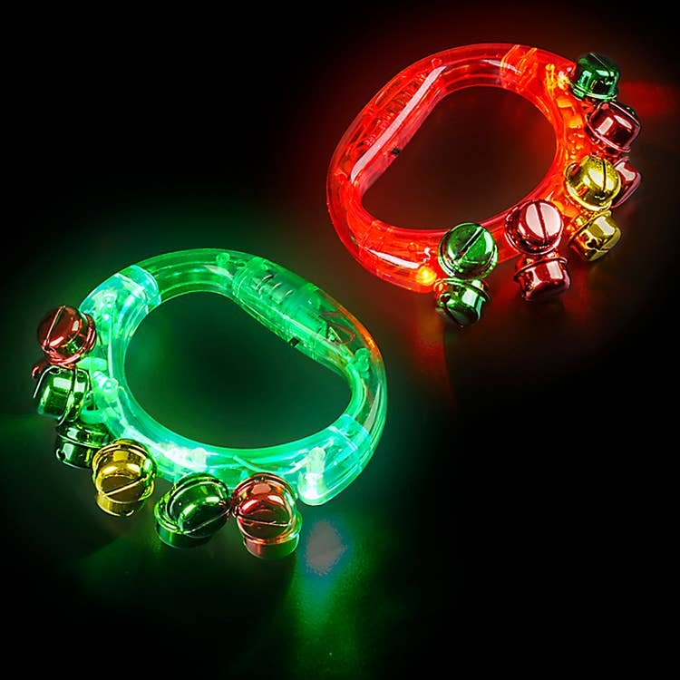 Light-up Jingle Bells Tambourine