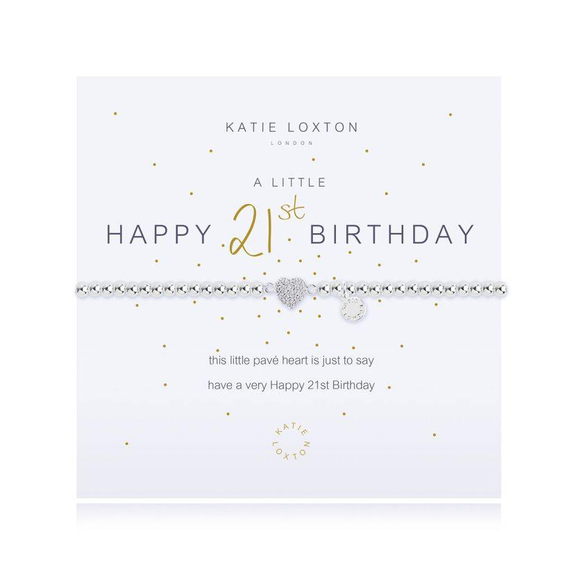 Katie Loxton - A Little Happy 21st Bracelet