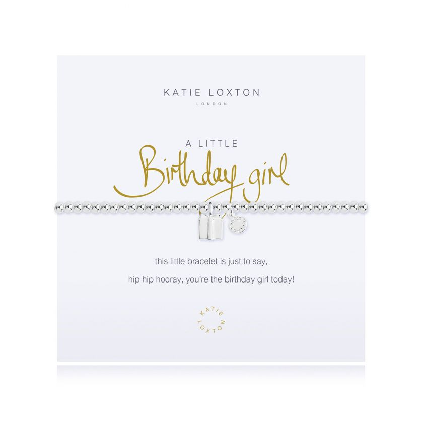 Katie Loxton - A Little Birthday Girl Bracelet