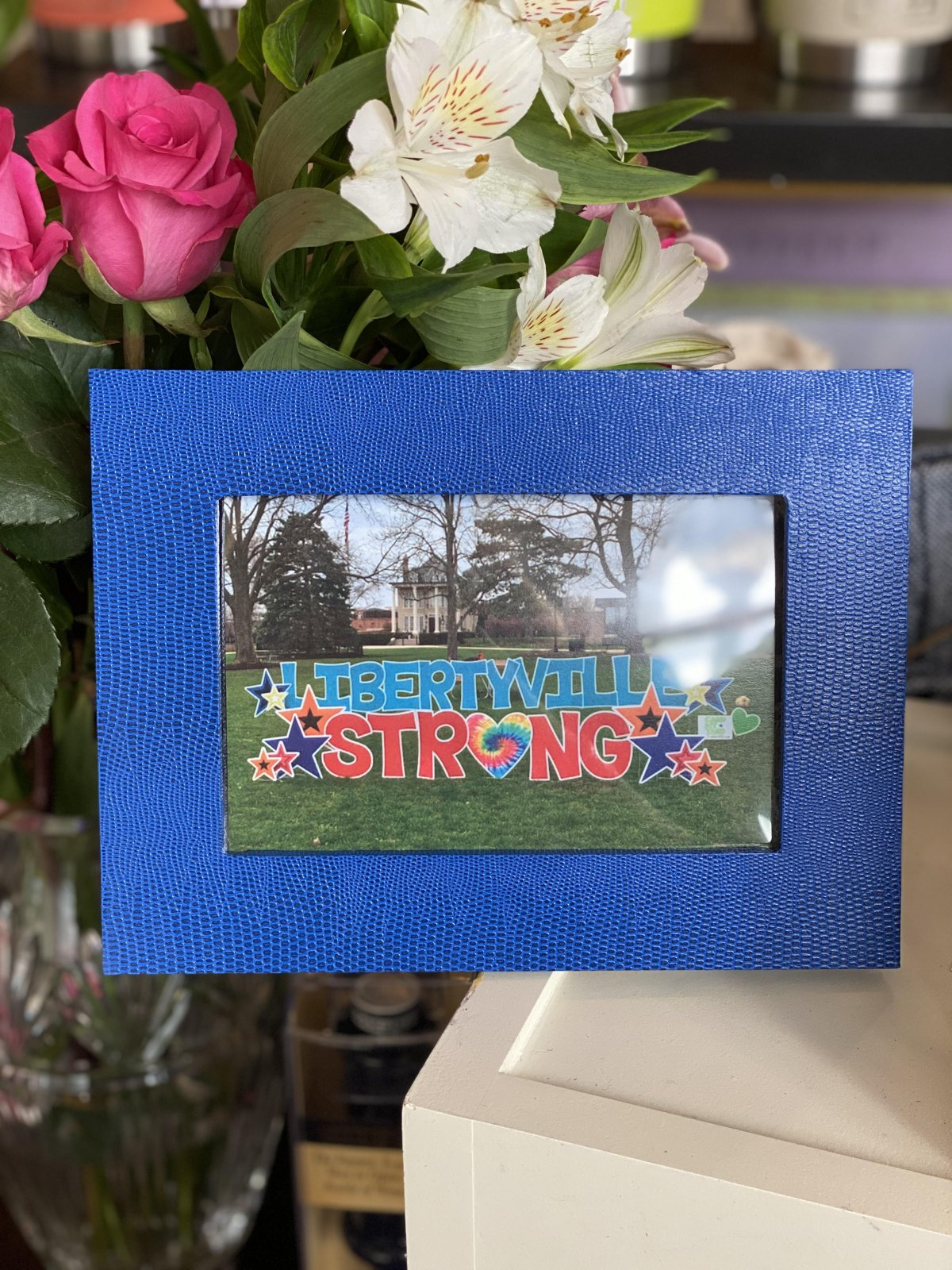Libertyville Strong Gift Set - Pack of 5 Cards w/ Blue Frame