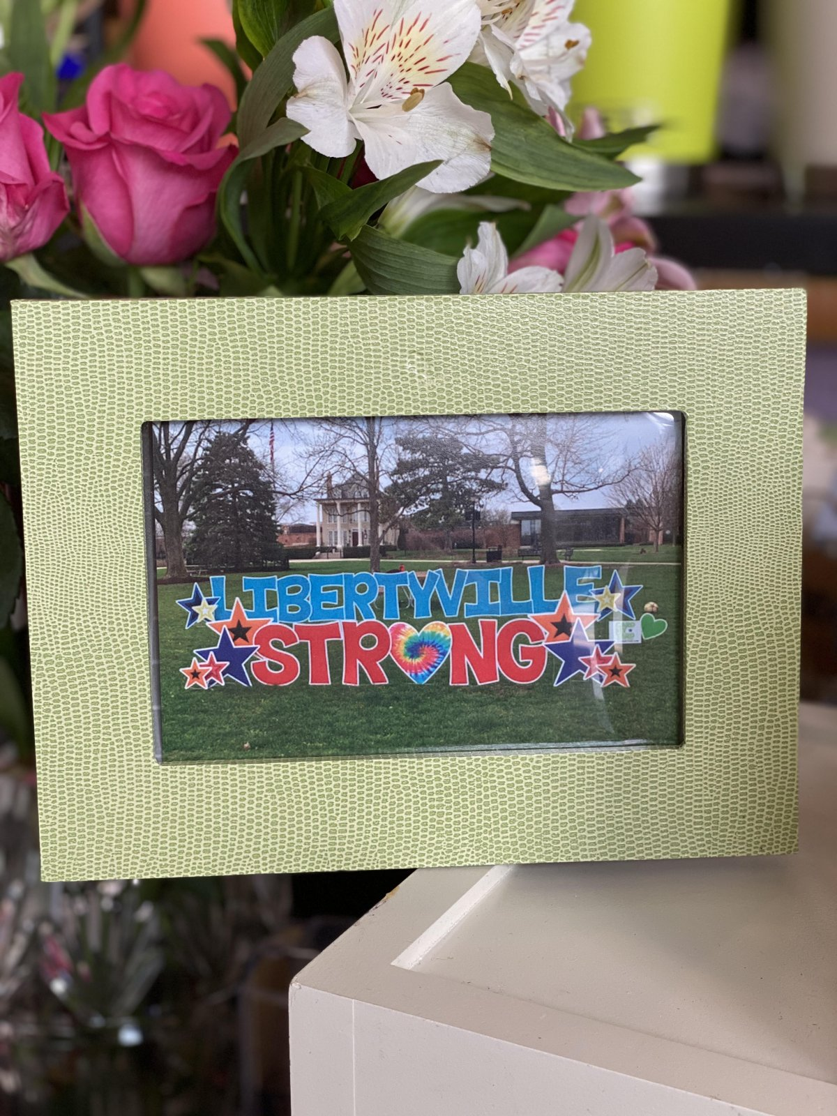 Libertyville Strong Gift Set - Pack of 5 Cards w/ Green Frame