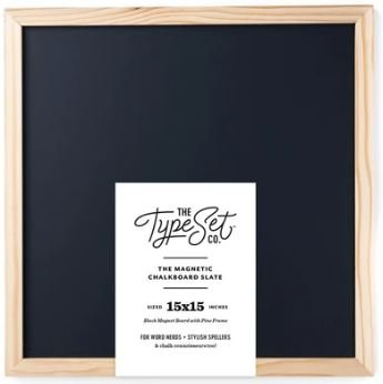 Mag Chalkboard Black