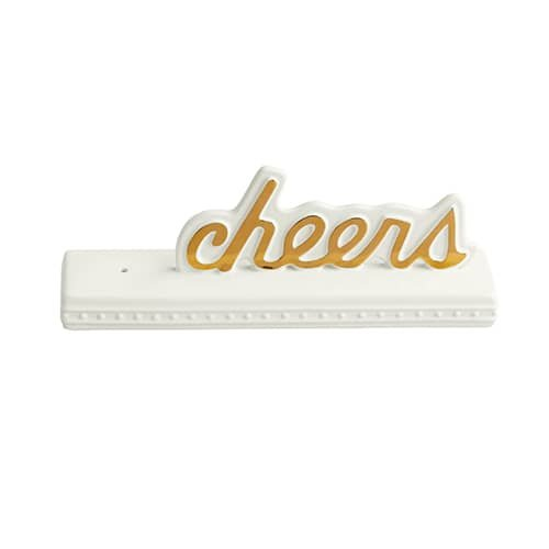 Nora Fleming Cheers Sign - SG01