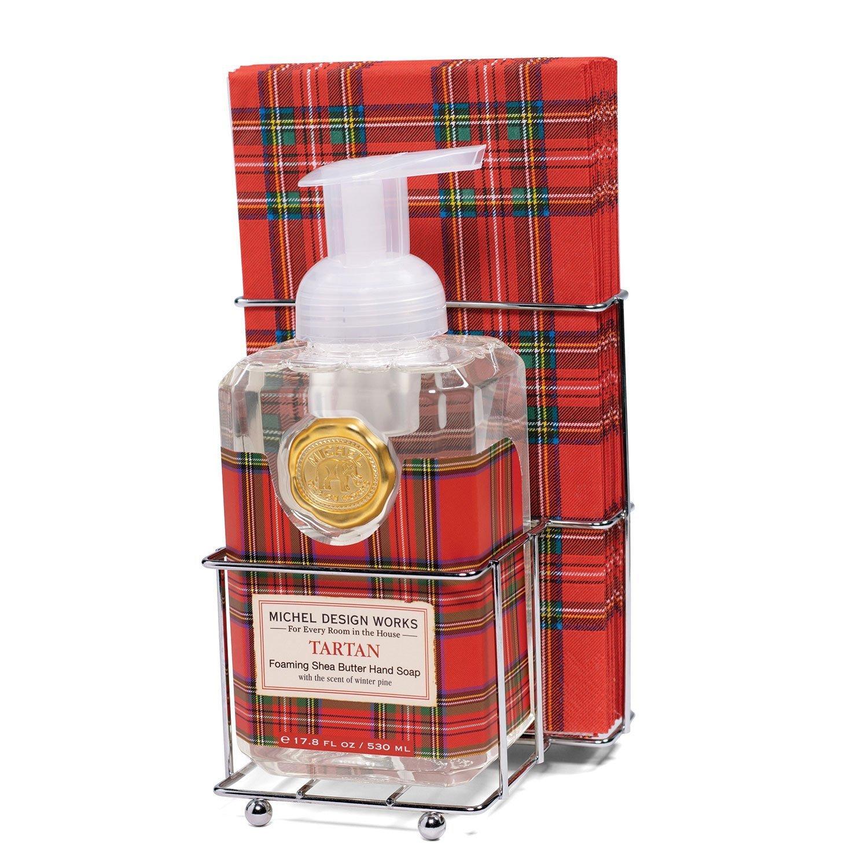 Tartan Soap & Napkin Set