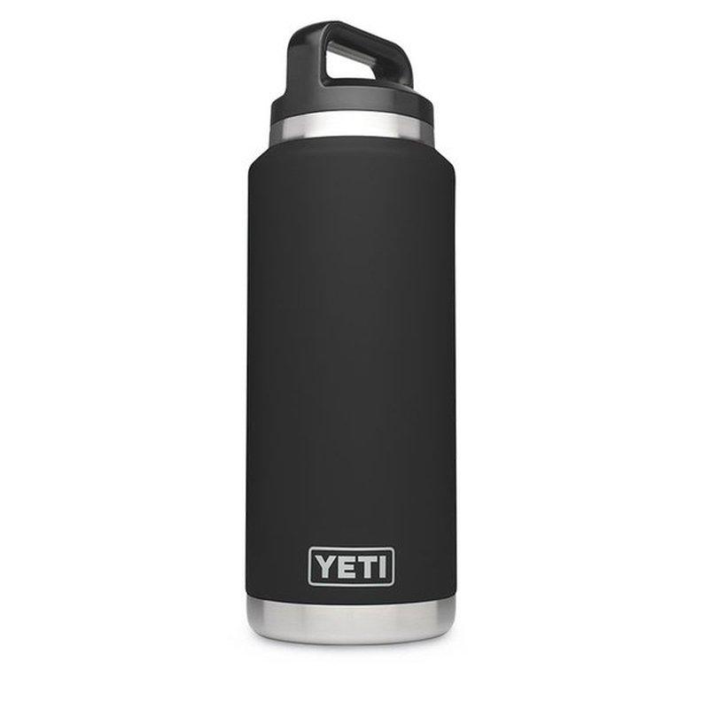 YETI Rambler Black 36 oz. Bottle