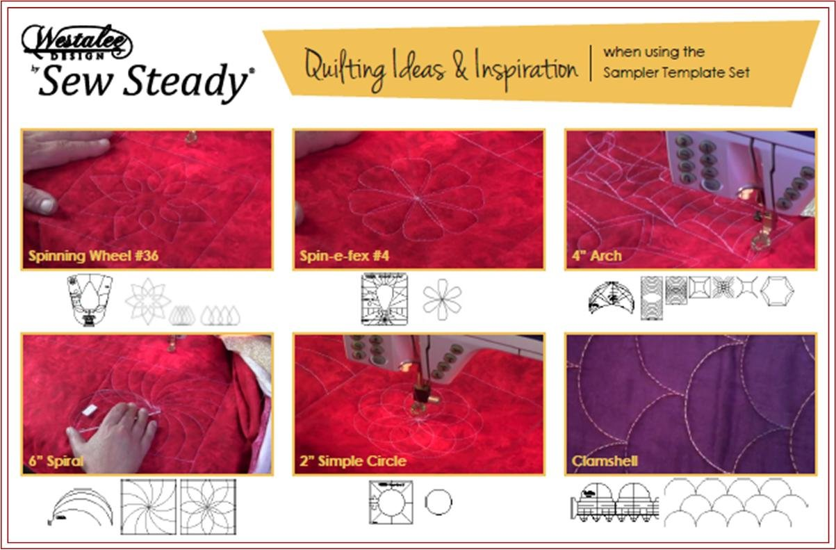 intro to free motion quilting with westalee templates
