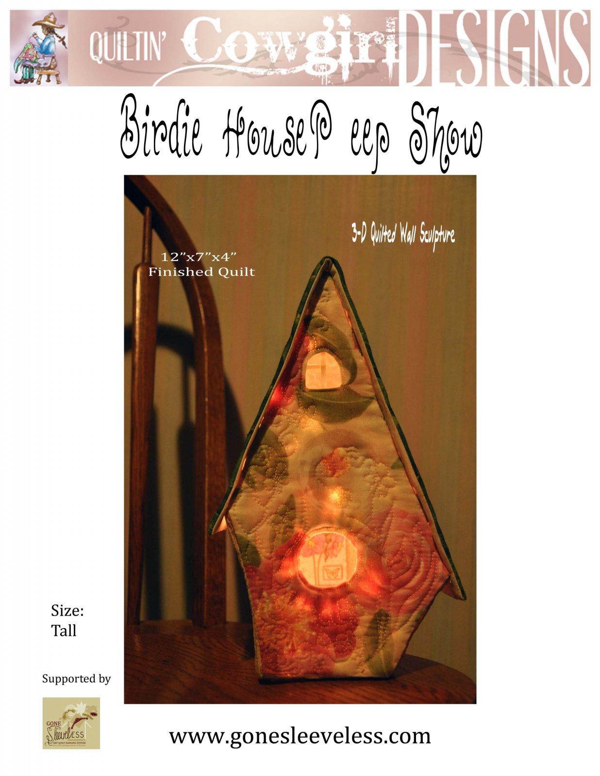 BIRDIE HOUSE PEEP SHOW - TALL