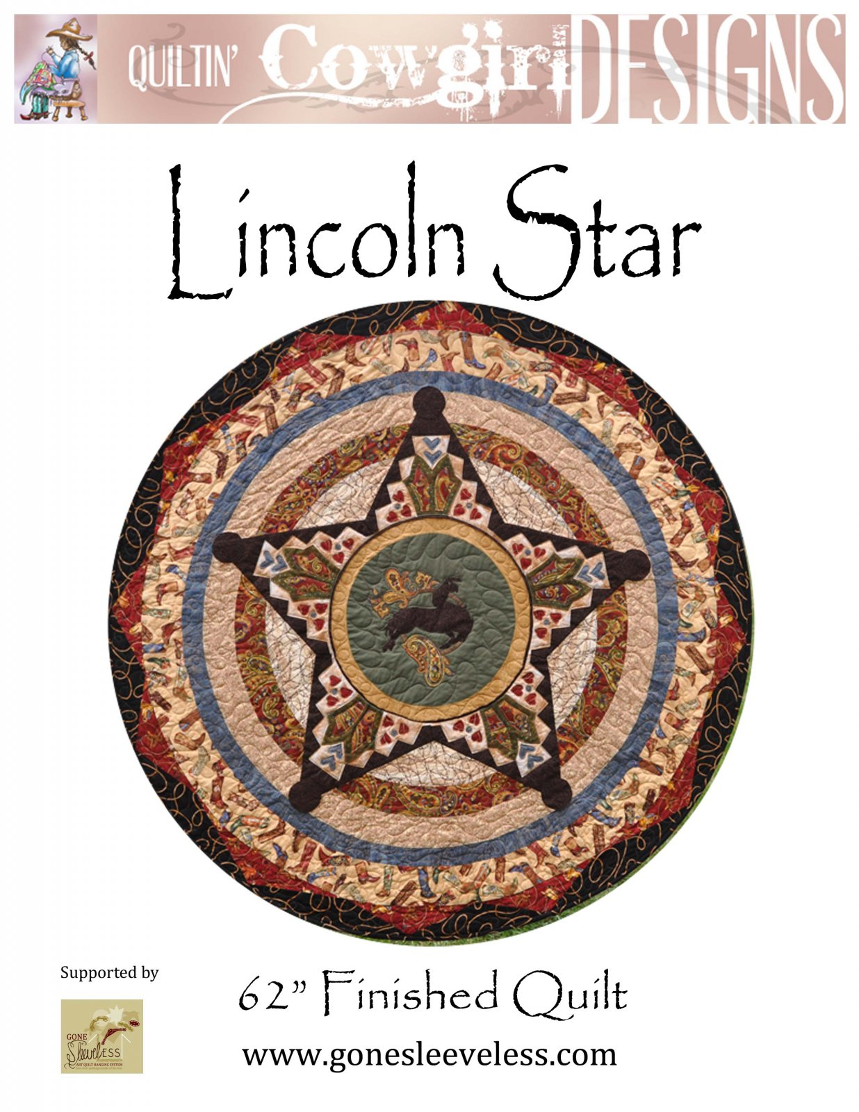 LINCOLN STAR FULL CIRCLE QUILT
