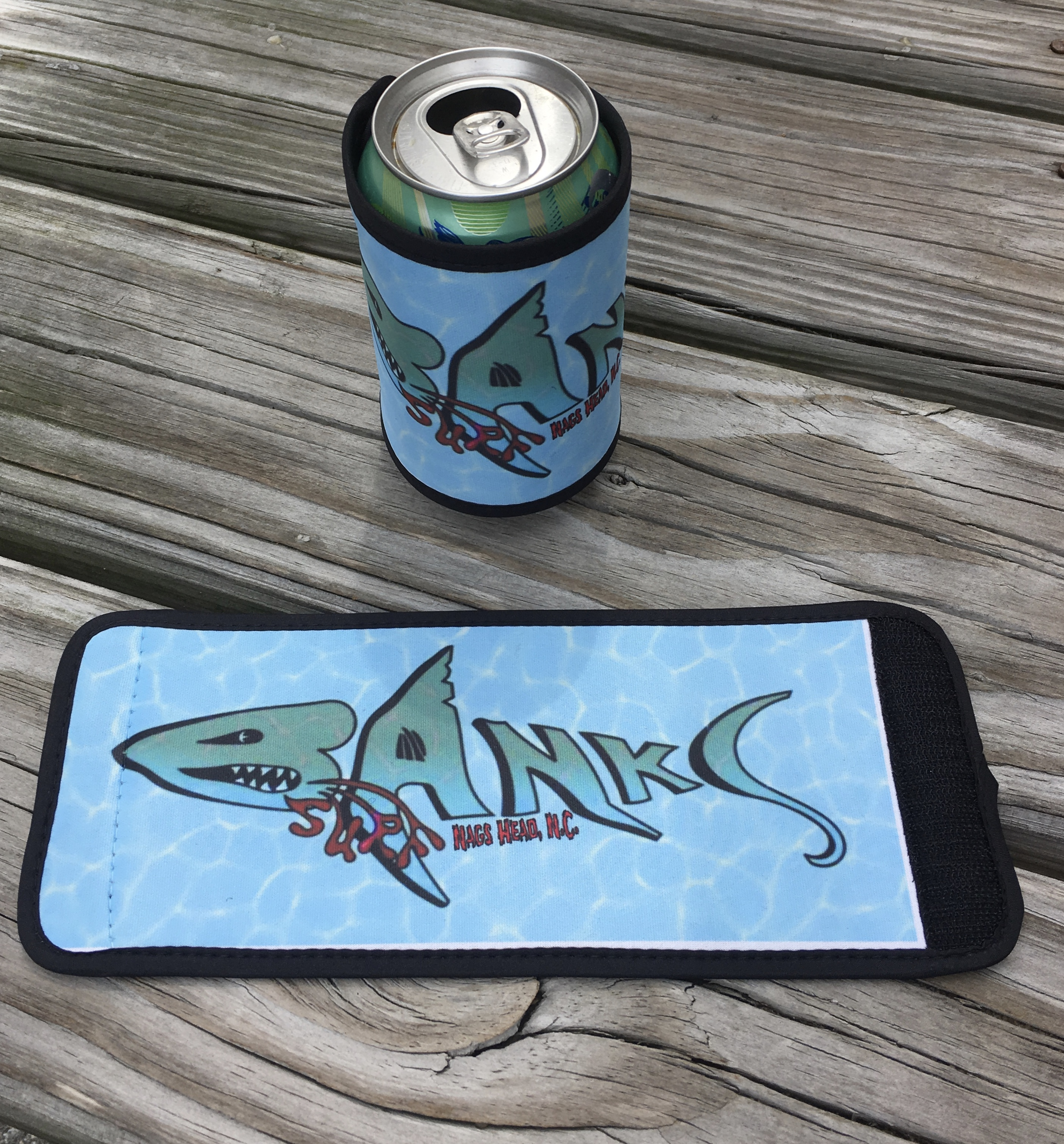 Banks Surf Supply Lurker Wrap Koozie