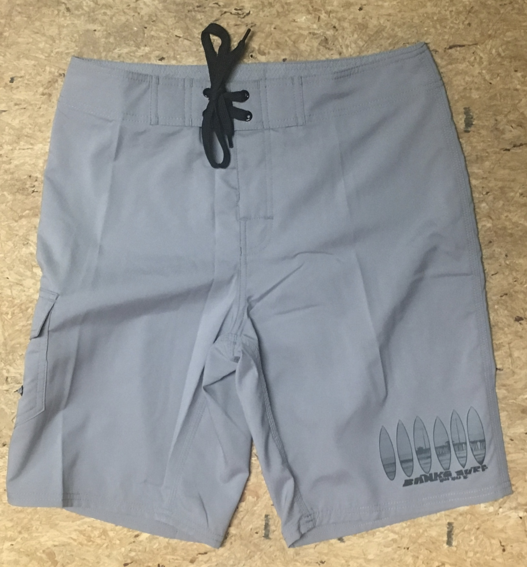 Banks Surf Supply Backyard Break Boardshort Grey