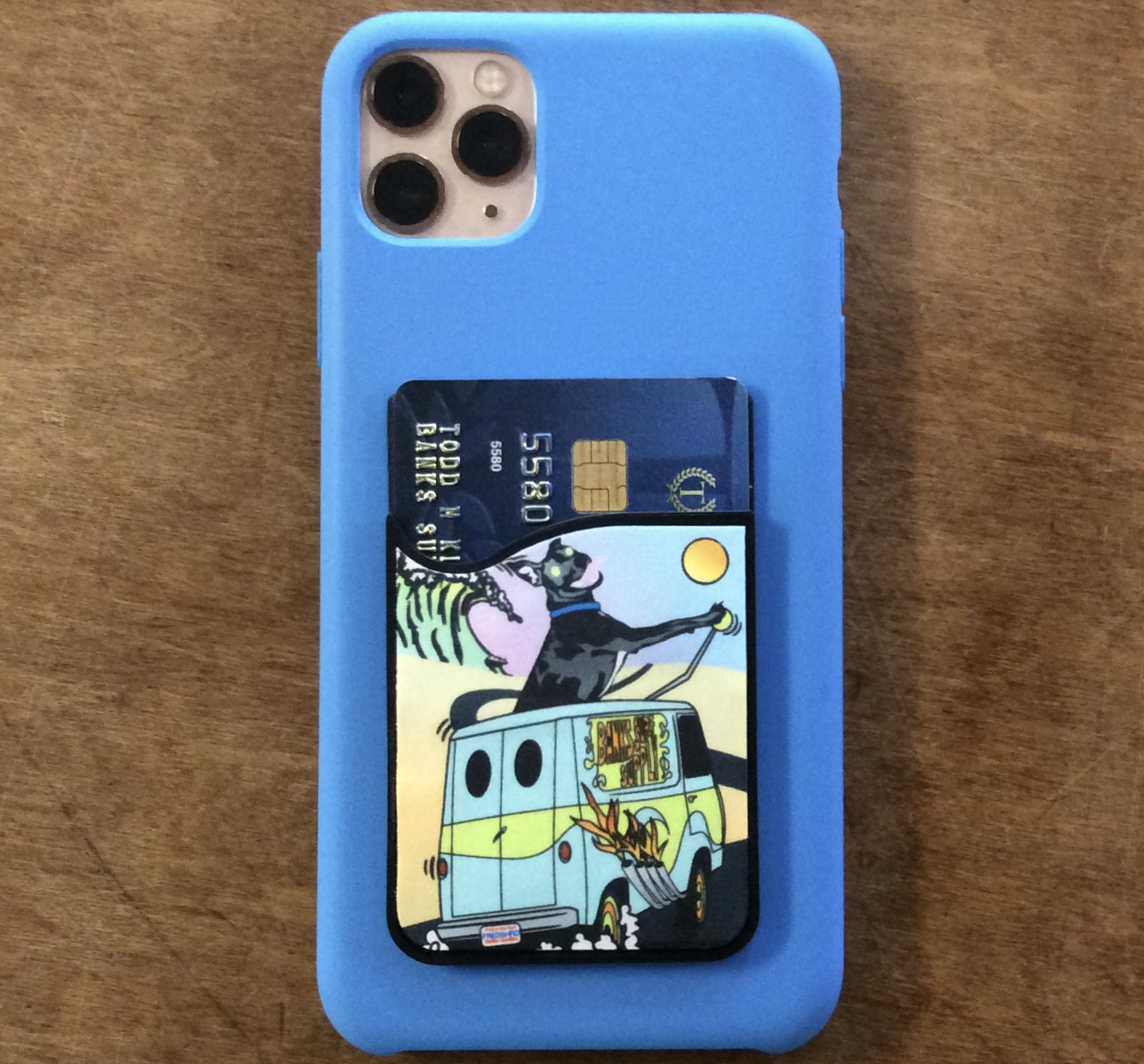 Banks Surf Supply Fred Shreds Card Caddy Phone Wallet