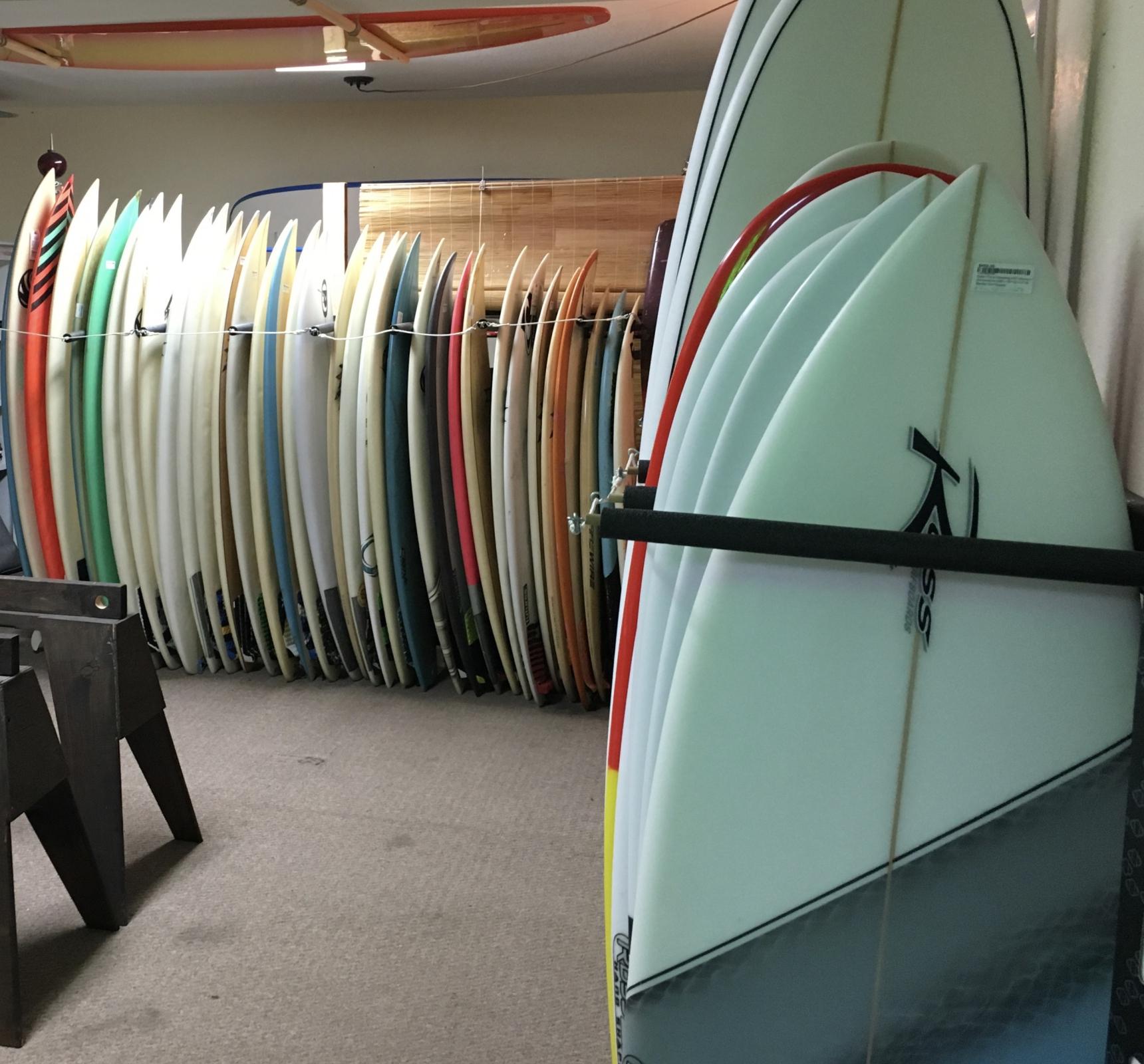New Surfboard Room