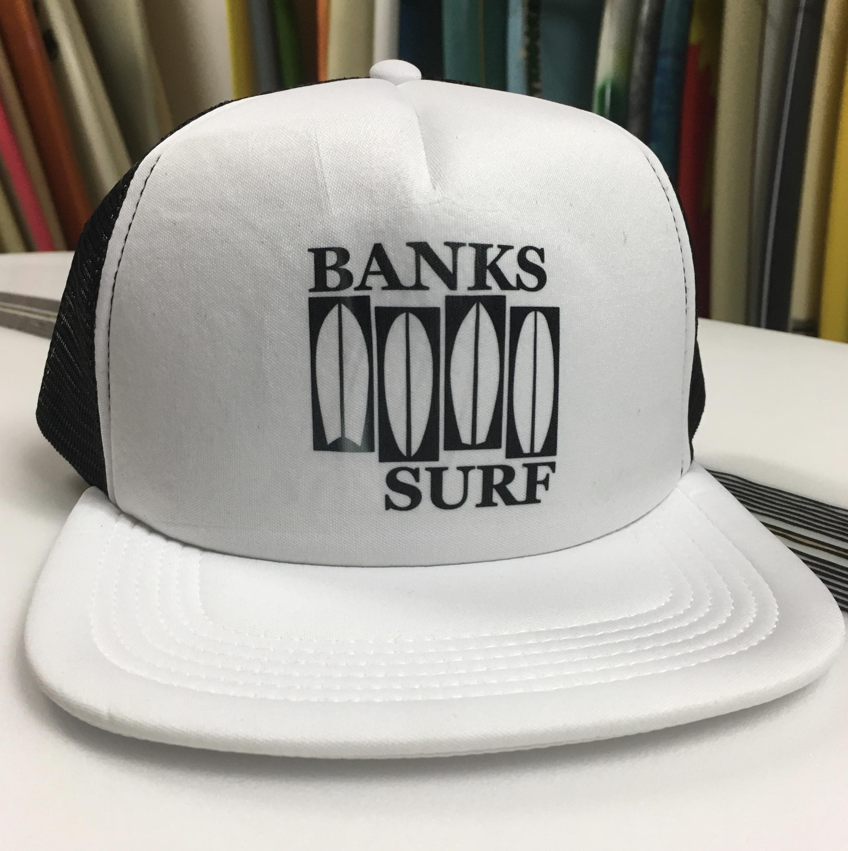 Banks Surf Supply Flag Trucker