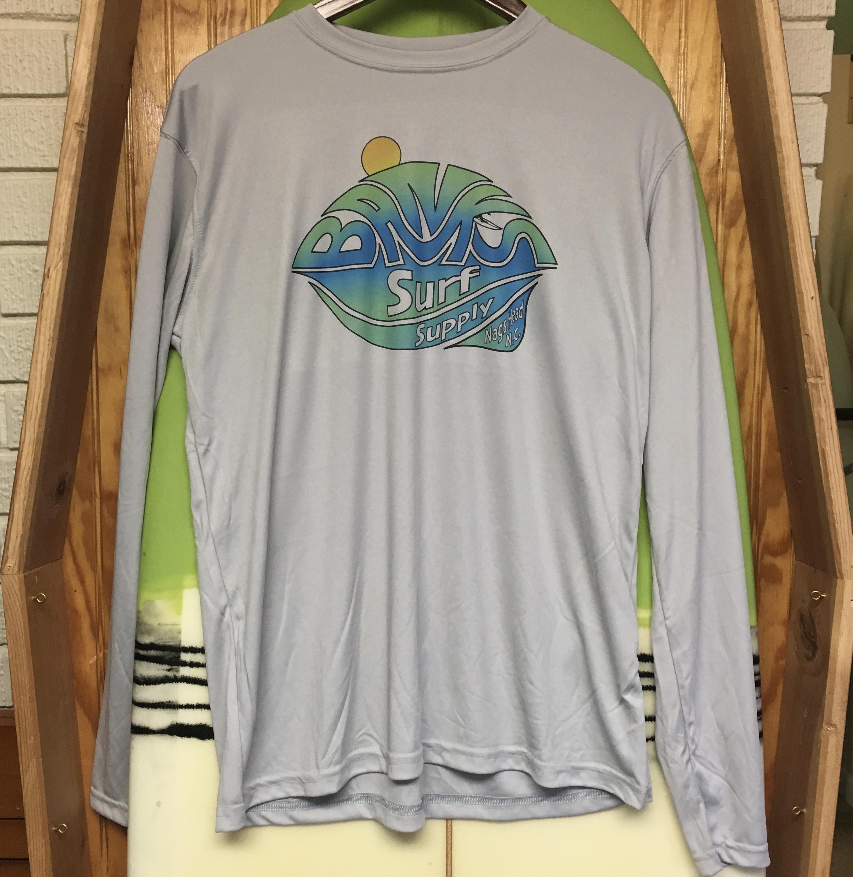 e46b39a3 ... 3/4 Sleeve Raglan Triblend White/Kelly Green. $27.95. Banks Surf Supply  A-Frame Solar Long Sleeve Tee