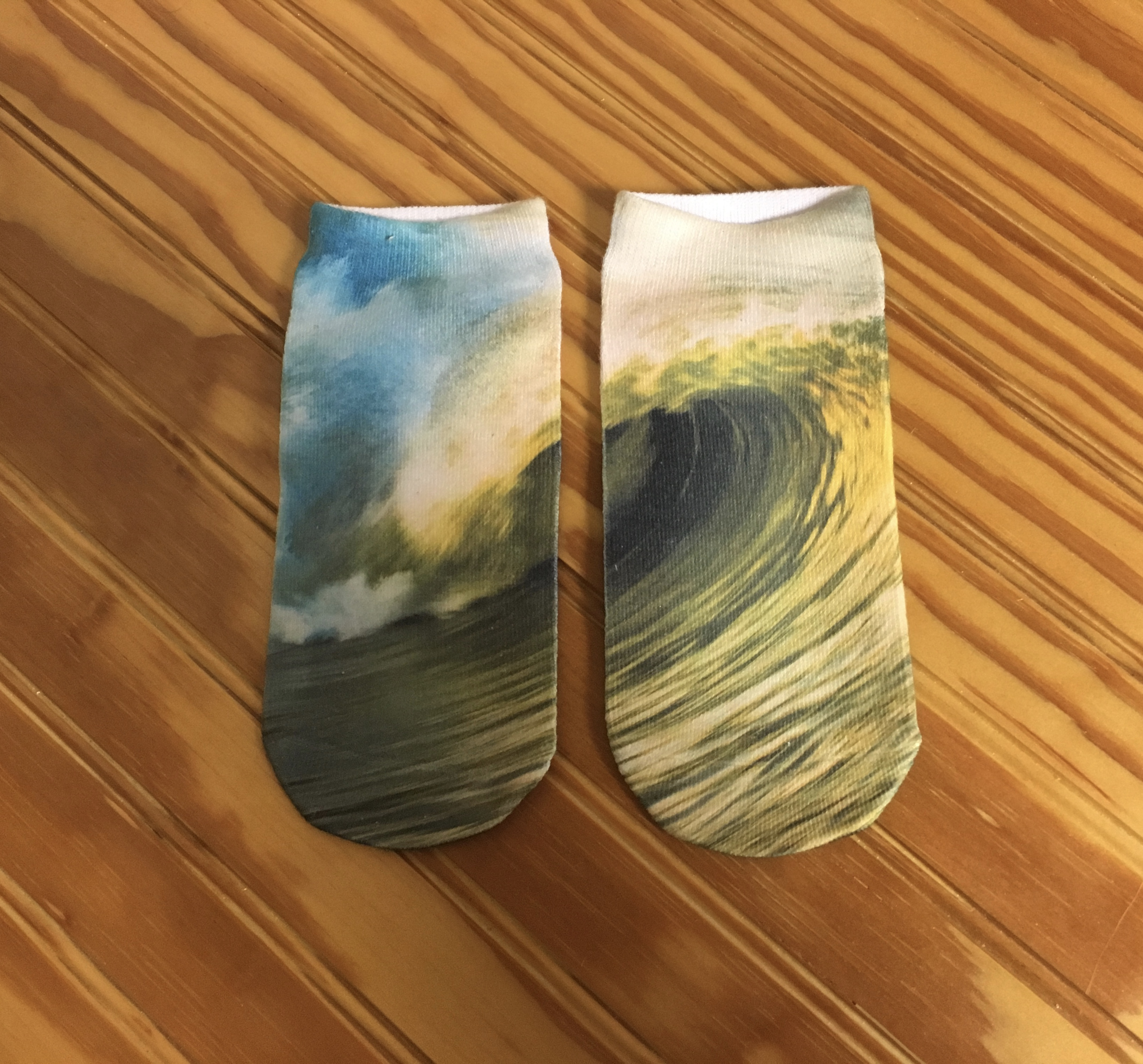 Banks Surf Supply Golden Hour No Show Socks