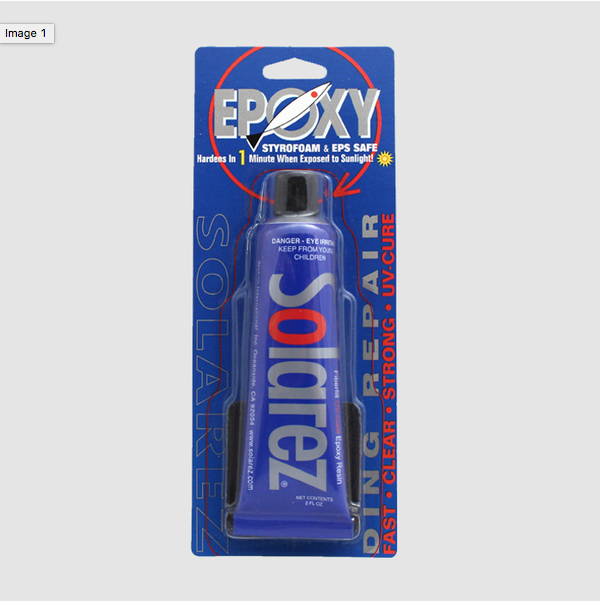 Solarez Epoxy Fiberfill UV-Cure Ding Repair Resin