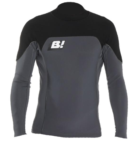 Buell RB1 1MM Long Sleeve Jacket Gunmetal/Black