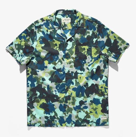 Banks Business & Pleasure Co. Short Sleeve Woven Shirt Combat
