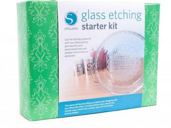 Silhouette Glass EtchingStarter Kit