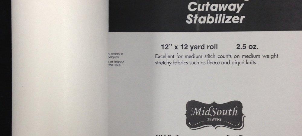 Medium Weight Cutaway12 x 12 ydH4251212K