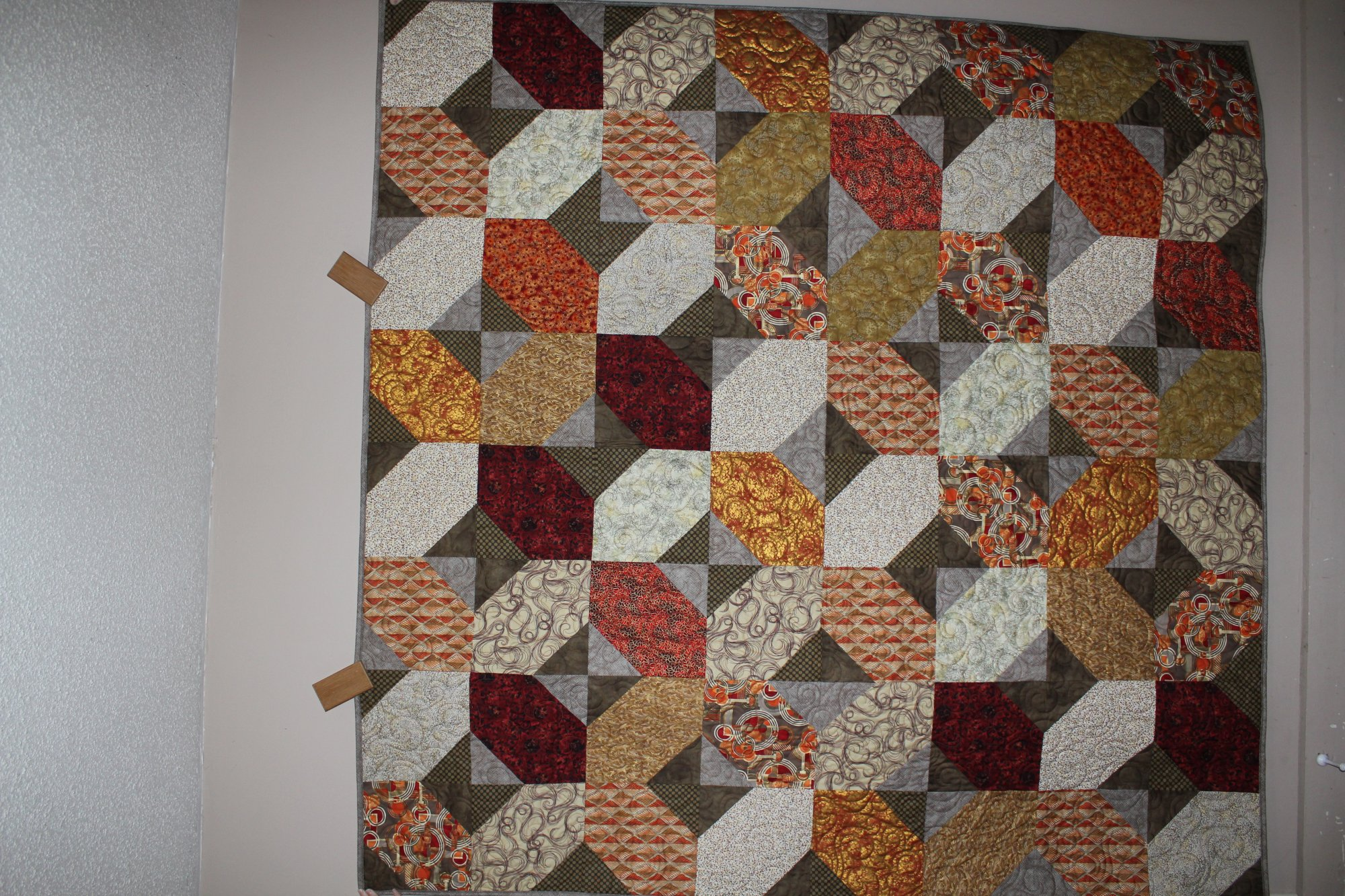 Precious Metals Twin/Throw Size Quilt