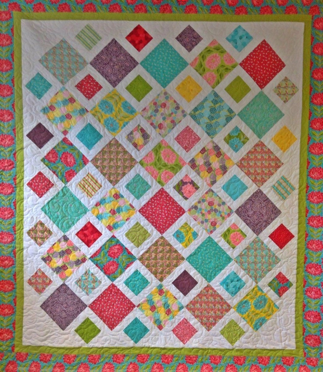 playing checkers quilt pattern - HD1043×1200